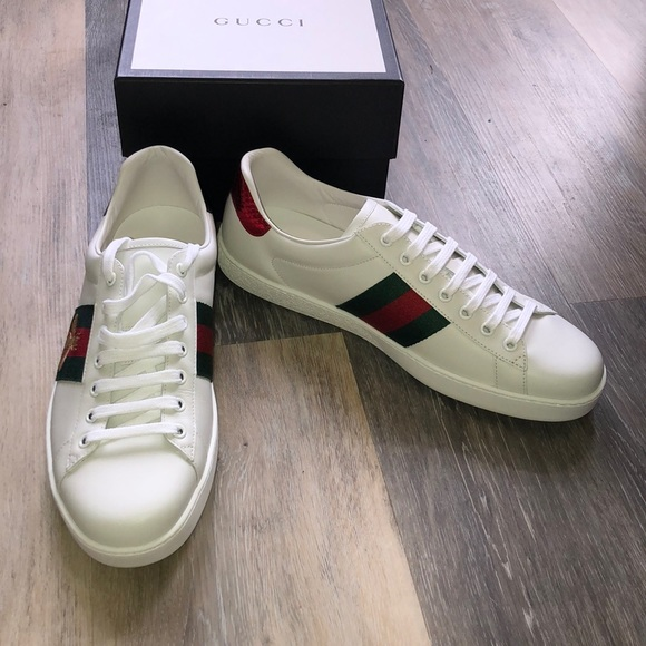 8f8fe3630 Gucci Shoes | New Bumble Bee Low Top Sneakers Size 11 Men | Poshmark